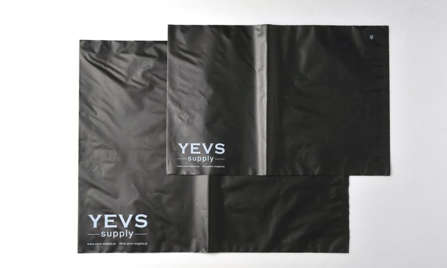 「YEVS supply」の発送袋